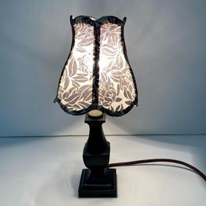 Mini lamp with sheer shade - Anthropologie